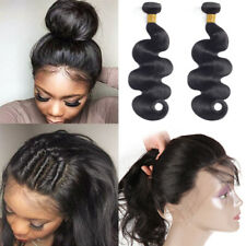 Brazilian Hair Body Wave Bundles With 360 Closure Virgin Human Hair Unprocessed