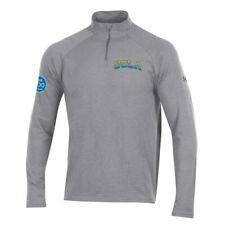 UCLA Bruins Under Armour Centennial Charged Cotton Quarter-Zip Pullover Jacket -
