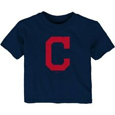 Cleveland Indians Infant Team Primary Logo T-Shirt - Navy