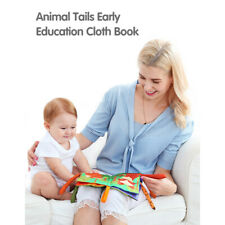 Animal Tail Cloth Book Stroller Hanging Toy Baby Early Learning Educational Toys