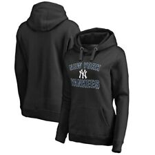 New York Yankees Fanatics Branded Women's Team Victory Arch Pullover Hoodie -
