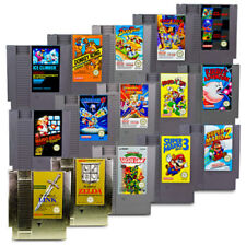Nes Game Super Mario Bros Mega Man Zelda Kid Icarus Metroid Duck Tales Turtles