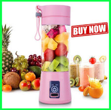 Portable Personal Blender Juicer Mix Blend Rechargeable Jet Cordless Squeezers -