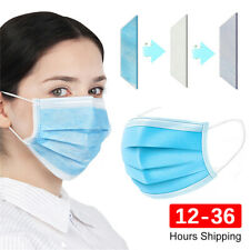 50 100 PCS 3-Ply Face Protection New