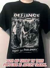 Defiance - Fight The Real Enemy -  Shirt (Street Punk)