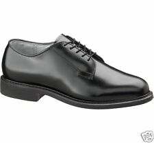 New Bates 968 Black Leather Uniform Oxfords-All Sizes