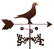 Hand Made HOMING ROLLER PIGEON Weathervane ~NEW~