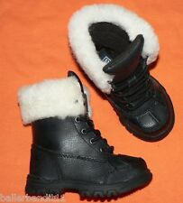 Toddlers Polo Ralph Lauren Quinta Boots black new