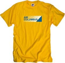 Air Columbus Retro Logo Portugese Airline T-Shirt