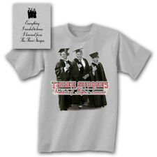 THREE STOOGES Higher Learning T-Shirt *NEW 3 Larry Moe Curley the