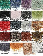 50 grams GEMSTONE Mini Chips UN-DRILLED Embellishments