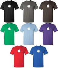 APPLE T-shirt Computer GEEK shirt Mac logo OSX TEE COOL