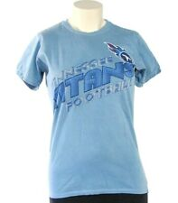 NFL Apparel Tennessee Titans Signature Short Sleeve Blue Tee T Shirt Womans NWT