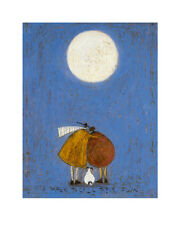 SAM TOFT - A MOON TO CALL OUR OWN ART PRINT WITH FRAMING OPTIONS OR AS CANVAS