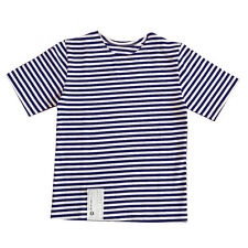Genuine RUSSIAN NAVY BLUE Stripe T-Shirt Top All SIZES Sailor Telnyashka Naval