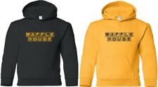 WAFFLE HOUSE Hooded Sweatshirt Vintage logo FUNNY Cool Hoodie COFFEE HOODY