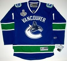 ROBERTO LUONGO VANCOUVER CANUCKS STANLEY CUP JERSEY '11