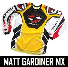 ALLOY MOTOCROSS MX CYCLING FREESTYLE JERSEY TOP ENDURO YELLOW RED new ALL SIZES