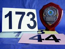 Sporting Sports Competitor Competition Numbers Cards Number Card Dance Sport