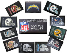 NFL Football Trifold Nylon Wallet - Pick Your Team