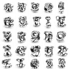 Authentic TROLLBEADS Bead in Argento Lettera - Letters Silver Bead