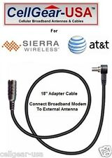 Sierra Wireless AT&T Shockwave USB308 Modem External Antenna Adapter Cable FME-M
