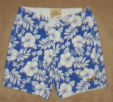 Hollister Mens MALIBU Hawaiian Print Swim Board Shorts NWT several sizes **