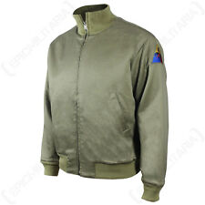 REPRO US AMERICAN WW2 TANKER JACKET - All Sizes Military Zipped Coat Army