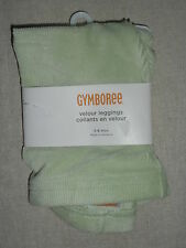 Gymboree FAIRY WISHES Light Mint Green Velour Leggings Pant NWT 3-6 Baby Pastel