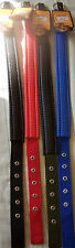 24 INCH LONG NYLON PADDED DOG COLLAR 1 INCH WIDE 4 DIFFERENT ONES TO CHOOSE FROM
