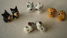 Porcelain Pairs of DOG Beads - 4 Styles/Breeds to choose from