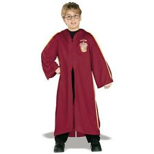 Quidditch Robe Costume Child Harry Potter Gryffindor Hooded Halloween