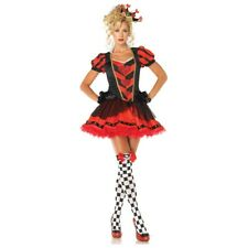 Queen of Hearts Costume Sexy Adult Halloween Fancy Dress