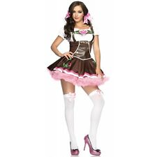 German Beer Girl Costume Adult Womens Sexy Oktoberfest Fraulein Fancy Dress