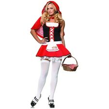 Sexy Little Red Riding Hood Costume Adult Halloween Fancy Dress