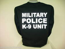 Reflective Military Police K-9 Unit, Long Sleeve T-Shirt, Military Police