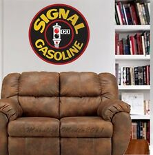 Signal Gasoline Gas Vintage Reproduction WALL GRAPHIC FAT DECAL MAN CAVE MURAL