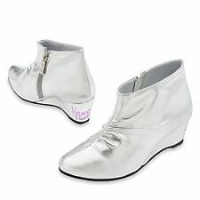 Hannah Montana Silver Rock Star Concert Boots Shoes Costume Disney Store