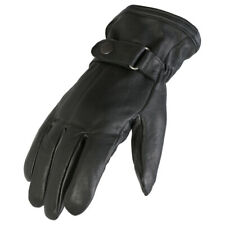 Soft Leather Motorcycle Bike Gloves With Thermal Thinsulate Lining