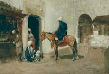 Moroccan Horseback Tomas Moragas  Art Photo /Poster Repro Print Many Sizes Gifts