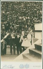 Photo Print Reproduction Olympic Games 1896 Spyros Louis Being Photographe