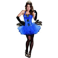 Peacock Costume Adult Womens Sexy Halloween Fancy Dress