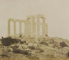 Photo Print Reproduction View Of Temple Of Poseidon At Sounion From Northe