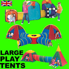 Extra Large Pop Up Tunnel and Tent Play System for Children Kids Boys Girls