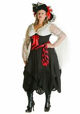 Adult Plus Size Female Pirate Costume