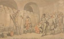 Alterations In Ale Cellar At Bullstrode Thomas Rowlandson  Art Poster/Photo Pr