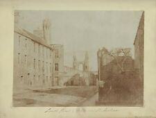 Photo Print Reproduction East End Of South Street St Andrews With Cathedra