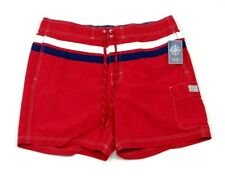 Chaps Red Board Shorts Swim Trunks Boardshorts Brief Liner Mens NWT