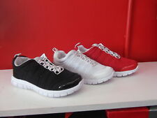 Ladies Shoes Slip on Casual Sneaker Shoe Size 5-10 Black red or white  So Comfy