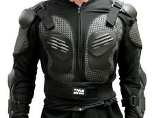 Motorcycle MX Full Body Armor Jacket Spine Chest Shoulder Protection Riding Gear